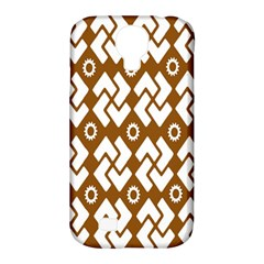 Art Abstract Background Pattern Samsung Galaxy S4 Classic Hardshell Case (PC+Silicone)