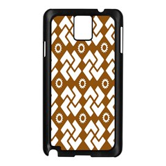 Art Abstract Background Pattern Samsung Galaxy Note 3 N9005 Case (Black)