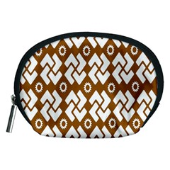 Art Abstract Background Pattern Accessory Pouches (Medium)