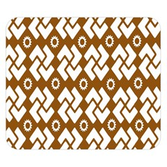 Art Abstract Background Pattern Double Sided Flano Blanket (Small)