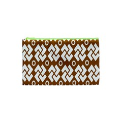 Art Abstract Background Pattern Cosmetic Bag (xs)
