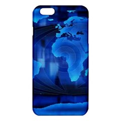 037429167625 Grass The Movie World Map Animated Background iPhone 6 Plus/6S Plus TPU Case