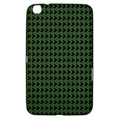 Clovers On Black Samsung Galaxy Tab 3 (8 ) T3100 Hardshell Case