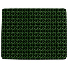 Clovers On Black Jigsaw Puzzle Photo Stand (rectangular)