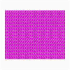 Clovers On Pink Small Glasses Cloth (2-Side)