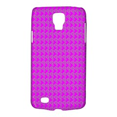 Clovers On Pink Galaxy S4 Active