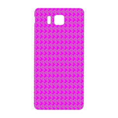 Clovers On Pink Samsung Galaxy Alpha Hardshell Back Case