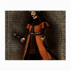 Count Vlad Dracula Small Glasses Cloth (2 Side)