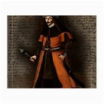 Count Vlad Dracula Small Glasses Cloth (2-Side) Front