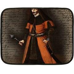 Count Vlad Dracula Fleece Blanket (Mini)