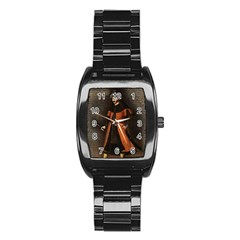 Count Vlad Dracula Stainless Steel Barrel Watch