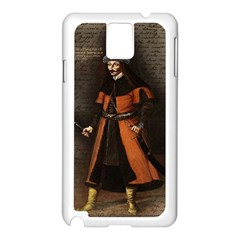 Count Vlad Dracula Samsung Galaxy Note 3 N9005 Case (White)