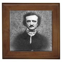 Edgar Allan Poe  Framed Tiles