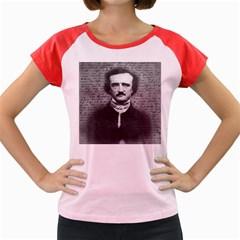 Edgar Allan Poe  Women s Cap Sleeve T Shirt