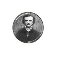 Edgar Allan Poe  Hat Clip Ball Marker