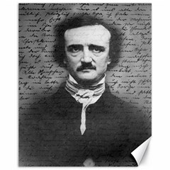 Edgar Allan Poe  Canvas 11  x 14