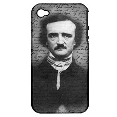 Edgar Allan Poe  Apple iPhone 4/4S Hardshell Case (PC+Silicone)
