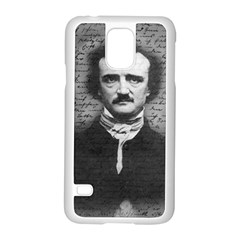 Edgar Allan Poe  Samsung Galaxy S5 Case (White)