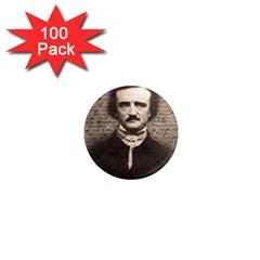 Edgar Allan Poe  1  Mini Magnets (100 pack)