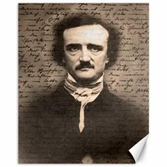 Edgar Allan Poe  Canvas 11  x 14