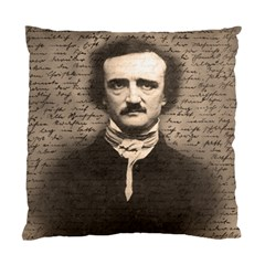 Edgar Allan Poe  Standard Cushion Case (Two Sides)