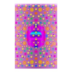 Colors And Wonderful Flowers On A Meadow Shower Curtain 48  x 72  (Small)