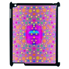 Colors And Wonderful Flowers On A Meadow Apple iPad 2 Case (Black)