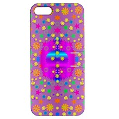 Colors And Wonderful Flowers On A Meadow Apple iPhone 5 Hardshell Case with Stand