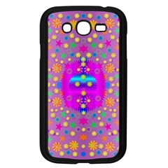 Colors And Wonderful Flowers On A Meadow Samsung Galaxy Grand DUOS I9082 Case (Black)