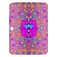 Colors And Wonderful Flowers On A Meadow Samsung Galaxy Tab 3 (10.1 ) P5200 Hardshell Case