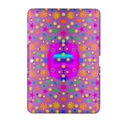 Colors And Wonderful Flowers On A Meadow Samsung Galaxy Tab 2 (10 1 ) P5100 Hardshell Case