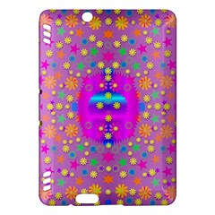 Colors And Wonderful Flowers On A Meadow Kindle Fire HDX Hardshell Case