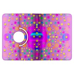 Colors And Wonderful Flowers On A Meadow Kindle Fire Hdx Flip 360 Case