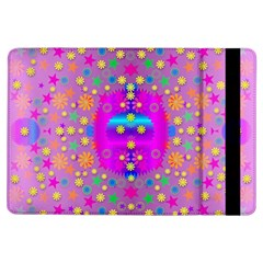 Colors And Wonderful Flowers On A Meadow iPad Air Flip