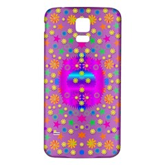 Colors And Wonderful Flowers On A Meadow Samsung Galaxy S5 Back Case (white)
