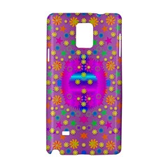 Colors And Wonderful Flowers On A Meadow Samsung Galaxy Note 4 Hardshell Case