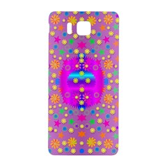 Colors And Wonderful Flowers On A Meadow Samsung Galaxy Alpha Hardshell Back Case