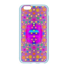 Colors And Wonderful Flowers On A Meadow Apple Seamless iPhone 6/6S Case (Color)