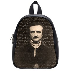 Edgar Allan Poe  School Bags (Small)