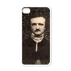 Edgar Allan Poe  Apple iPhone 4 Case (White)