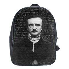 Edgar Allan Poe  School Bags(Large)