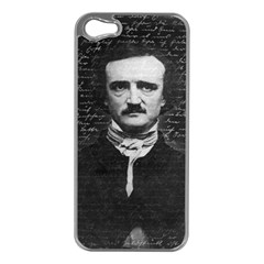Edgar Allan Poe  Apple iPhone 5 Case (Silver)