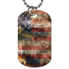 Vintage Eagle  Dog Tag (Two Sides)