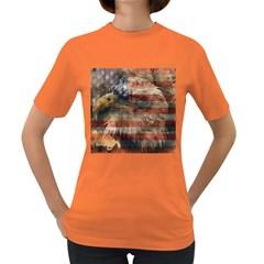 Vintage Eagle  Women s Dark T-Shirt