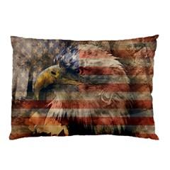 Vintage Eagle  Pillow Case