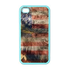 Vintage Eagle  Apple iPhone 4 Case (Color)