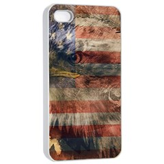 Vintage Eagle  Apple iPhone 4/4s Seamless Case (White)