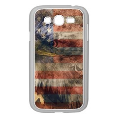 Vintage Eagle  Samsung Galaxy Grand DUOS I9082 Case (White)