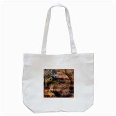 Vintage Eagle  Tote Bag (White)