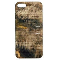 Vintage Eagle  Apple iPhone 5 Hardshell Case with Stand